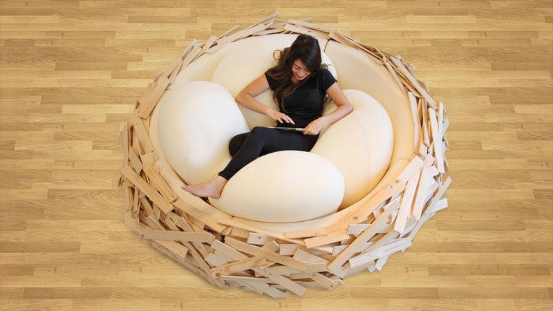 Medium the birds nest bed 10877