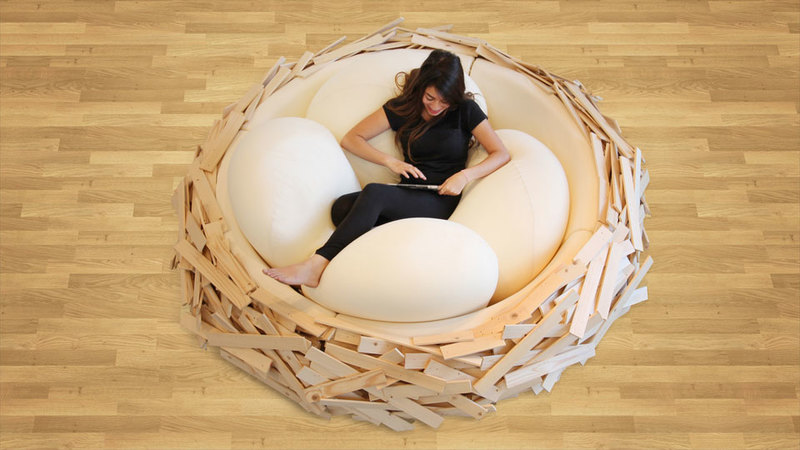 Medium the birds nest bed 10877